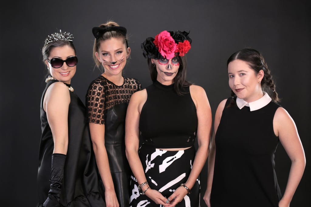 Easy Black Dress Halloween Costumes Popsugar Love Sex