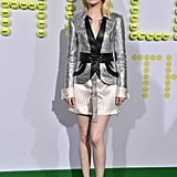 Emma Wore This Custom Blazer Dress to the Battle of the Sexes Premiere in California