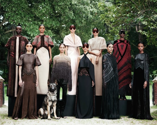 Pictures and Review of the 2012 Fall Couture Givenchy Show