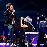 "Bradley Cooper and Lady Gaga Sing ""Shallow"" Jan. 2019 Video"