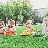 Rainbow Baby Photo Shoot