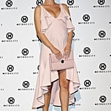 Rosie Huntington-Whiteley's Dress During Seoul Fashion Week