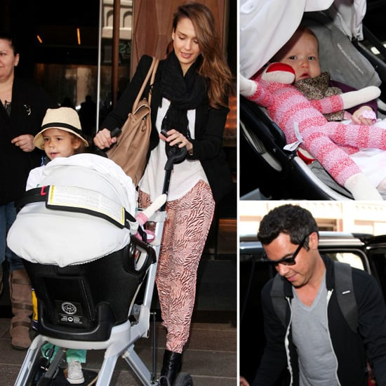 Jessica Alba Pictures With Cash Warren and Girls