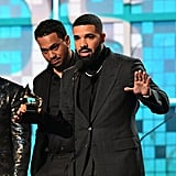 Photos of Drake Accepting His Award at the Grammys