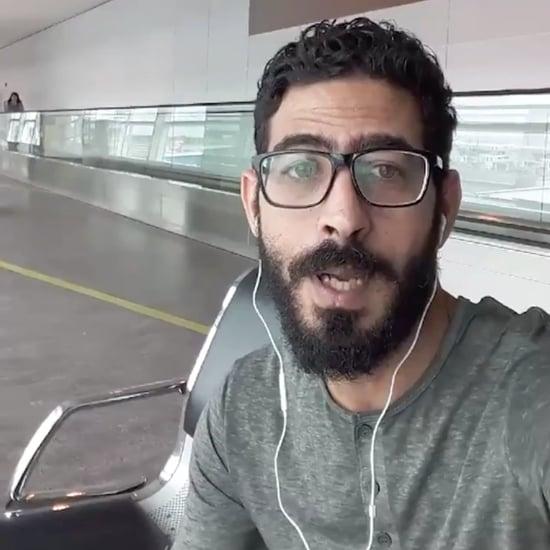 لاجئ سوري عالق في مطار ماليزي لما يزيد عن شهر