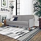 DHP Jasper Coil Linen Upholstered Futon Couch