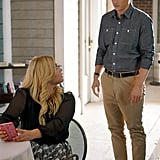 Umm . . . are those zebras on Alison's skirt?! Too cute!
