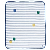 Quirky, unexpected, and fun, Bonnie Baby's Multi Pocket Blue Stripe Shawl ($40, originally $47) makes for a playful pick.