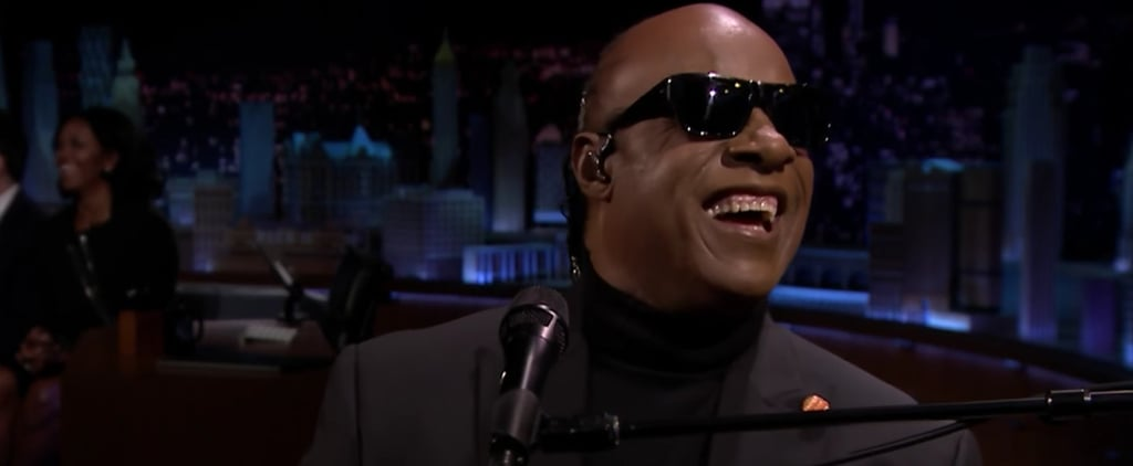"Stevie Wonder Sings ""Isn't She Lovely"" in a Fitting Tribute to Michelle Obama"