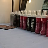 The models had Model Co self tanning products applied prior to the show. Stay tuned for our exclusive, backstage tanning feature later today.