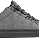 Gray goes with everything, am I right? That's why these Balenciaga Arena Suede Sneakers ($595) are totally worth the splurge.