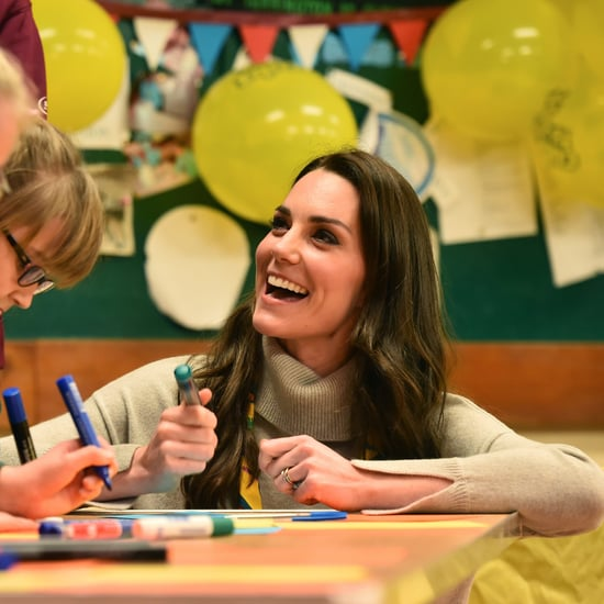 Kate Middleton Uses Coloring Books