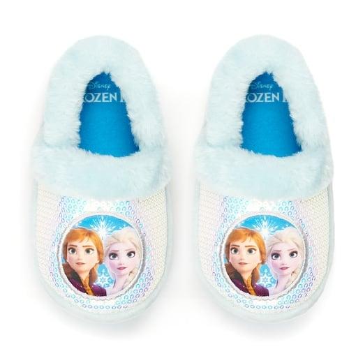 Disney's Frozen 2 Elsa & Anna Toddler Girls' Slippers