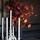 Leaf and Candle Display