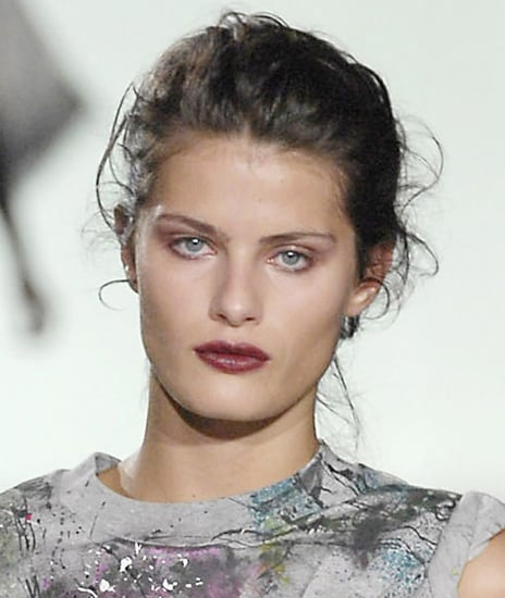 Autumn Winter 2008 Catwalk Runway Fashion Beauty Trend Rustic Romance Make-up from Milan Shows