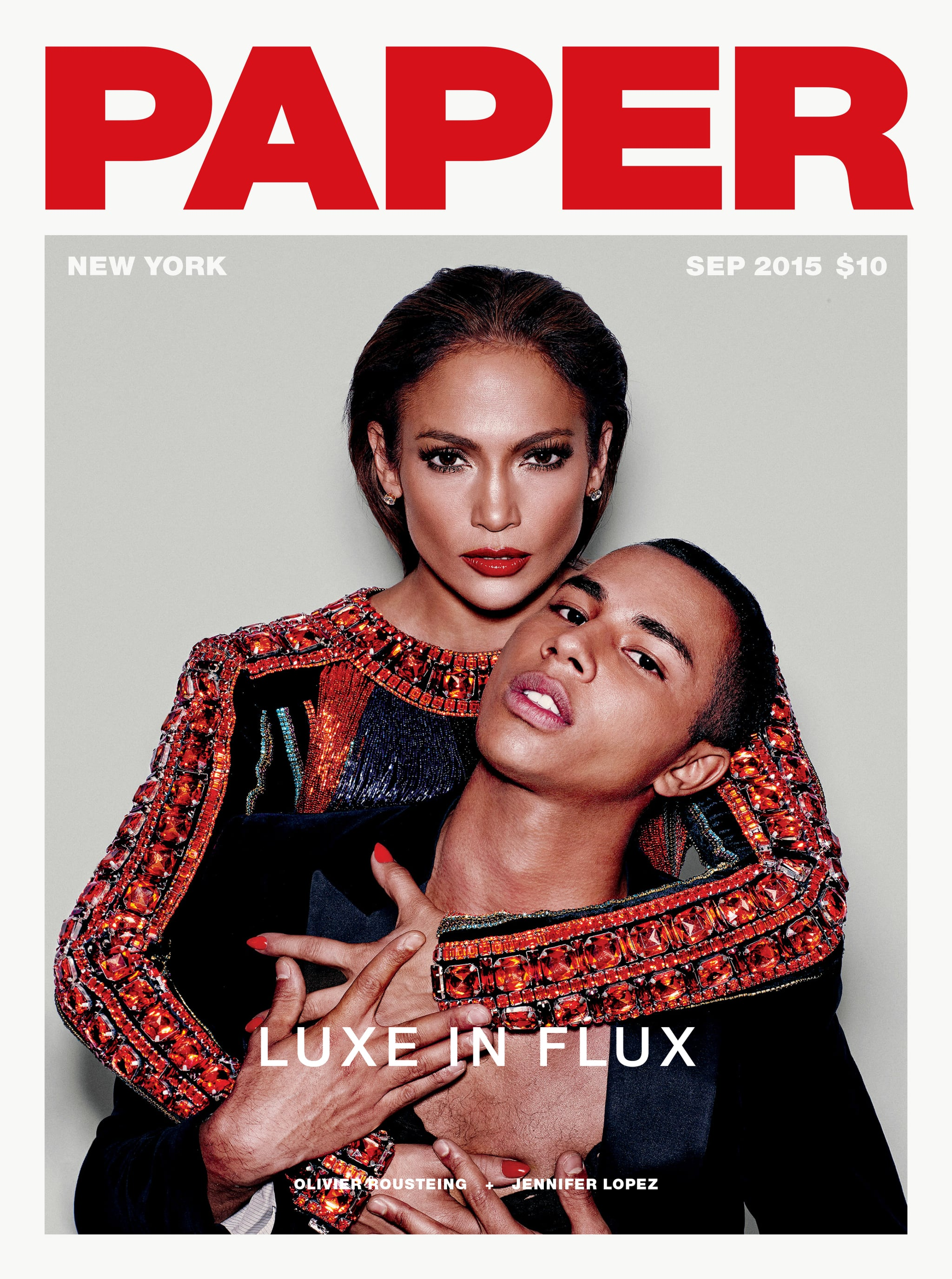 Jennifer Lopez Paper Magazine Popsugar Fashion