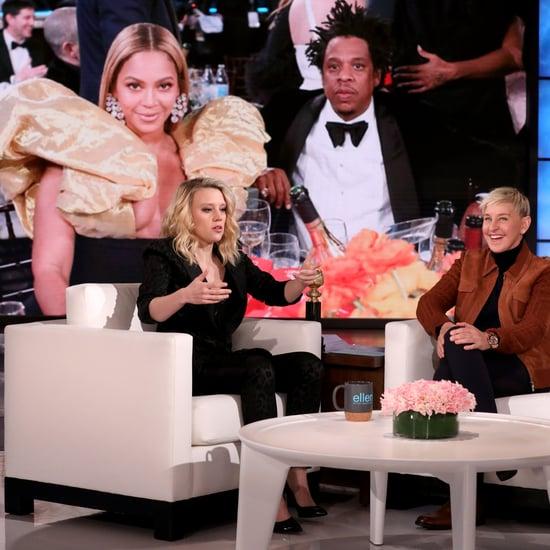 Watch Kate McKinnon Talk Meeting Beyoncé at the Globes