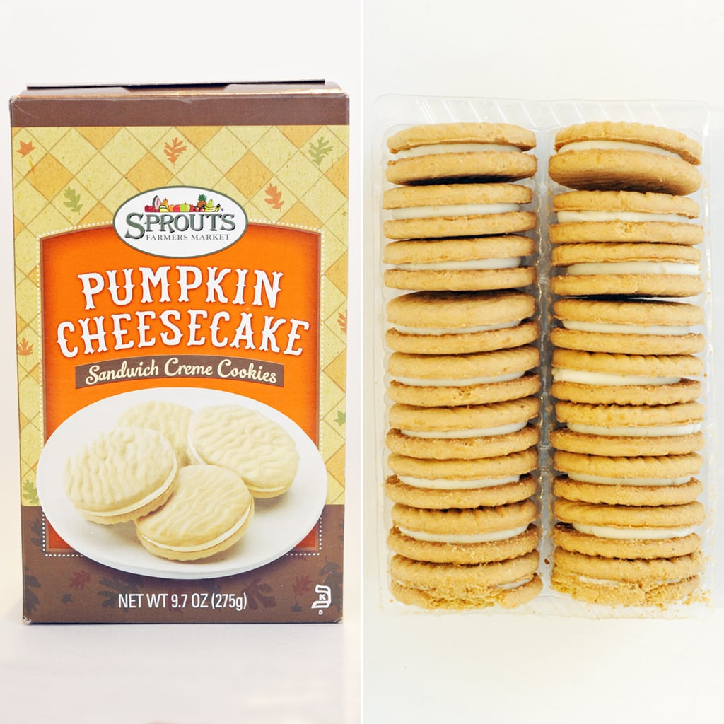 Sprouts Pumpkin Cheesecake Sandwich Creme Cookies