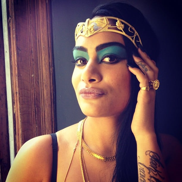 Were Still Crazy For The Cleopatra Makeup Tutorial We Put Together With MAC Cosmetics