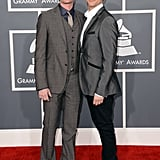 Neil Patrick Harris and David Burtka hit the Grammys red carpet together.