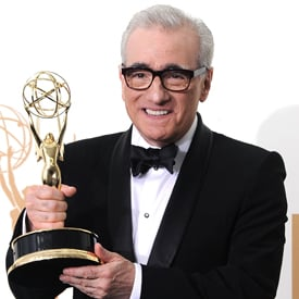 Martin Scorsese Emmy Press Room Interview 2011