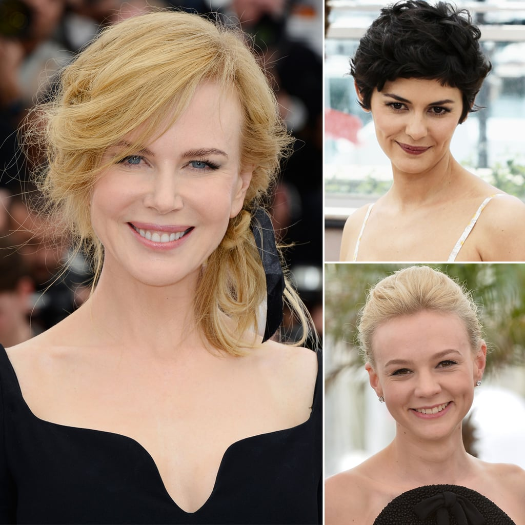 See The Beauty Styles From the First Day at Cannes