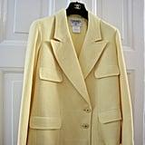 Chanel Vintage Yellow Blazer