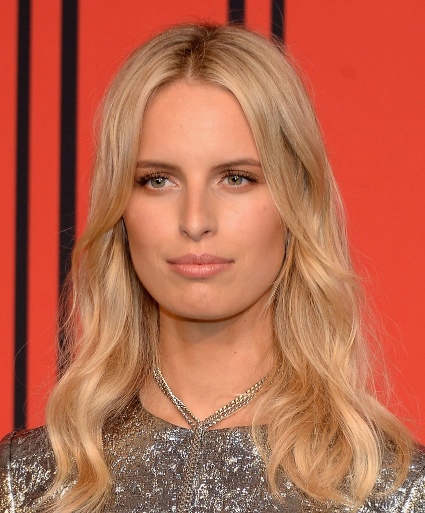 With her buttery-blond waves and neutral makeup, Karolina Kurkova is sure to inspire many beauty looks this Summer.