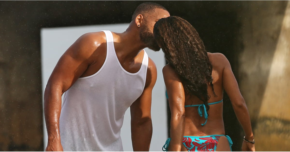 Will Smith And Jada Pinkett Smith Kiss On Vacation In