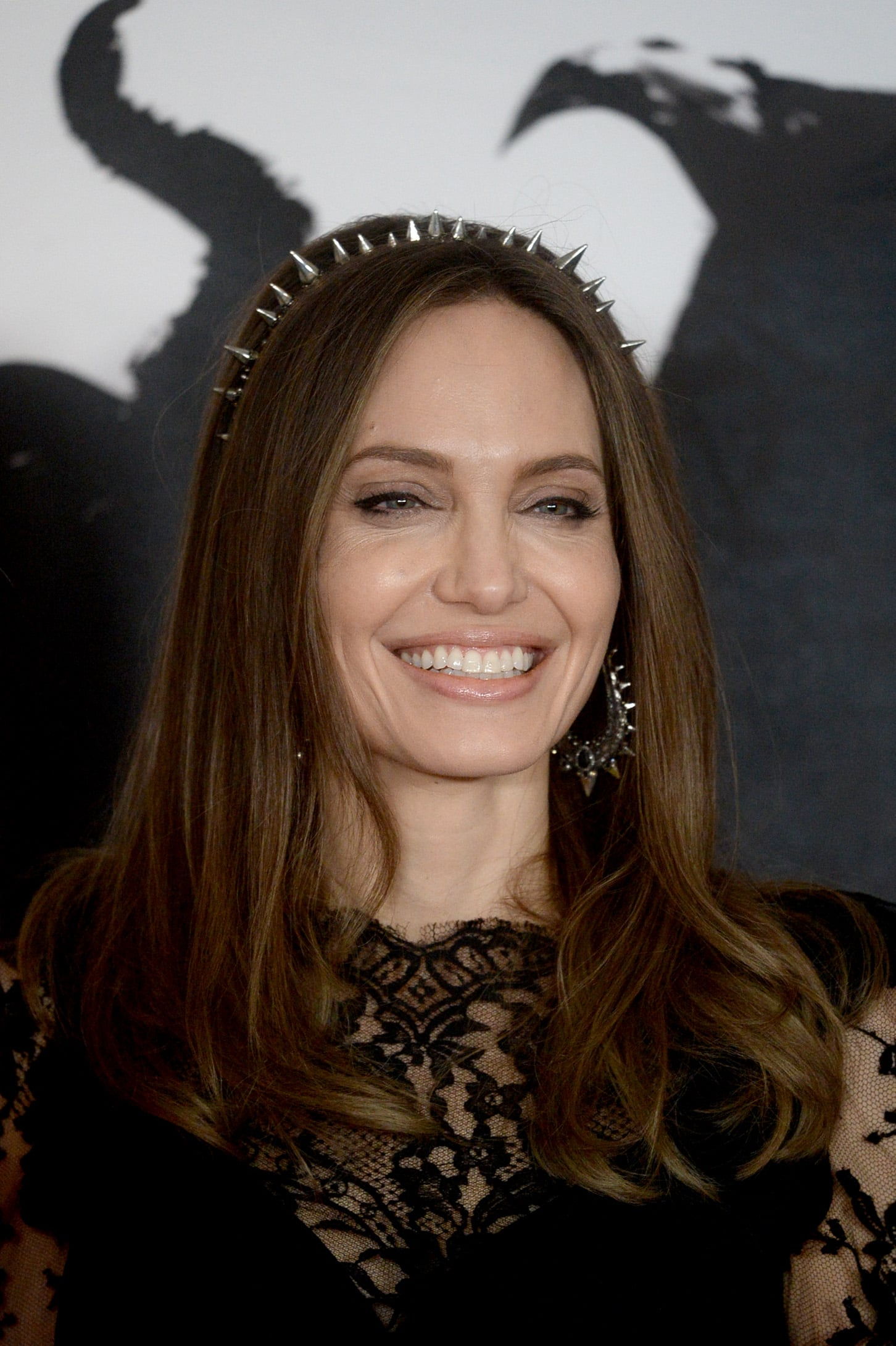 Angelina Jolie At The Maleficent Mistress Of Evil London