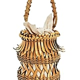Loewe Bucket Fringes Bag Light Caramel