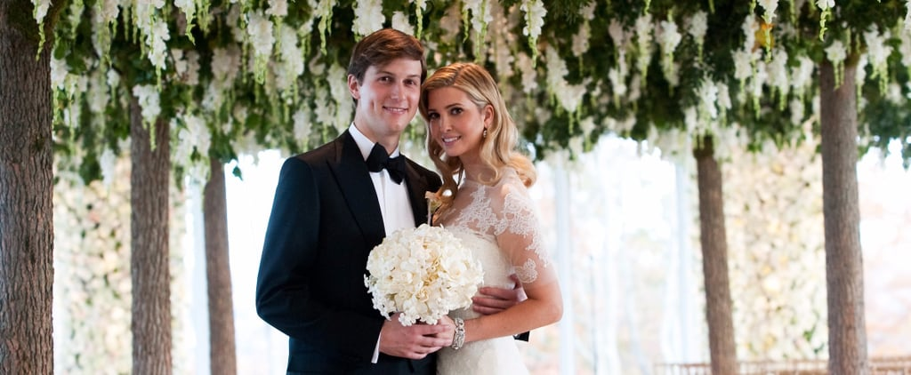 Ivanka Trump's Custom Wedding Dress Was Accessorized With $220,000 Worth of Diamonds
