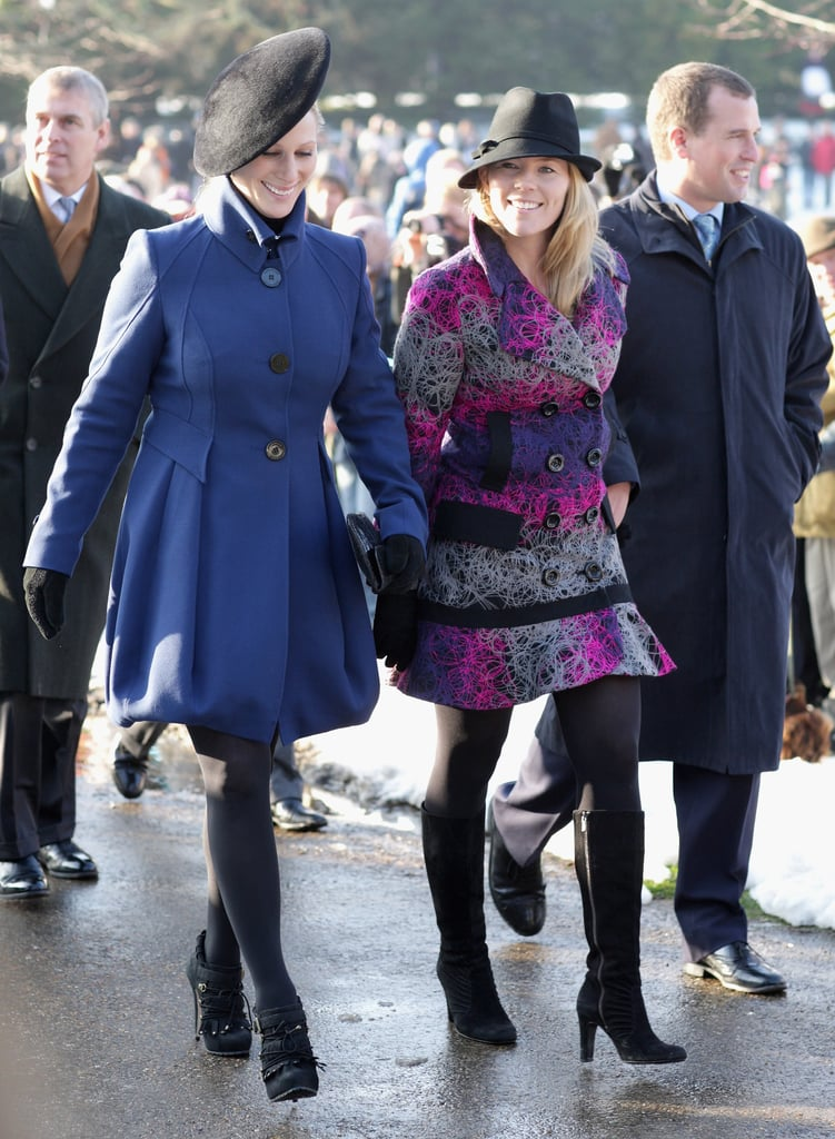 Photos Of Newly Engaged Zara Phillips Style Take A Look