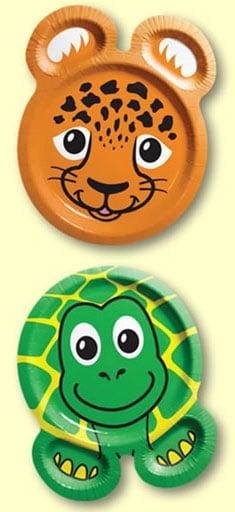 Animal Plates for Children