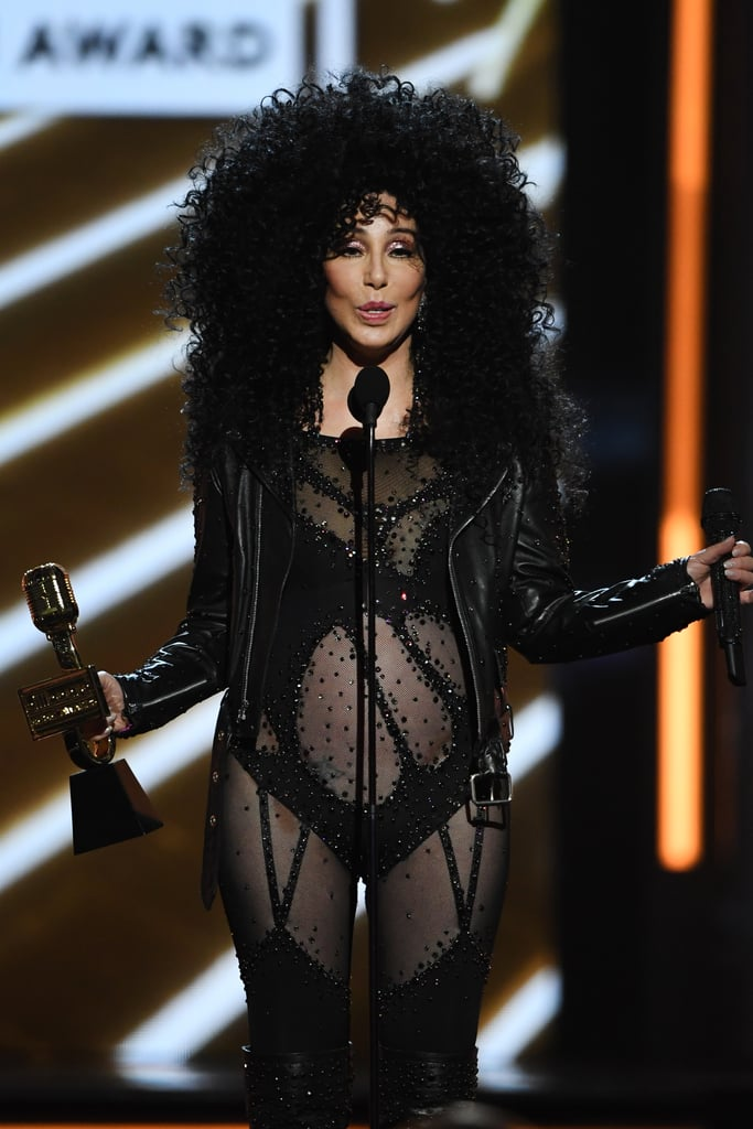 Cher S Outfits At 2017 Billboard Music Awards Popsugar