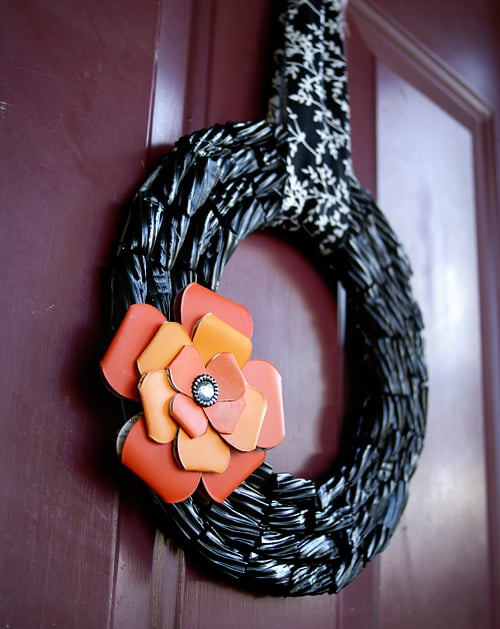 Black Licorice Wreath