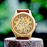 Woodgrain Star Wars Genuine Leather Custom Watch