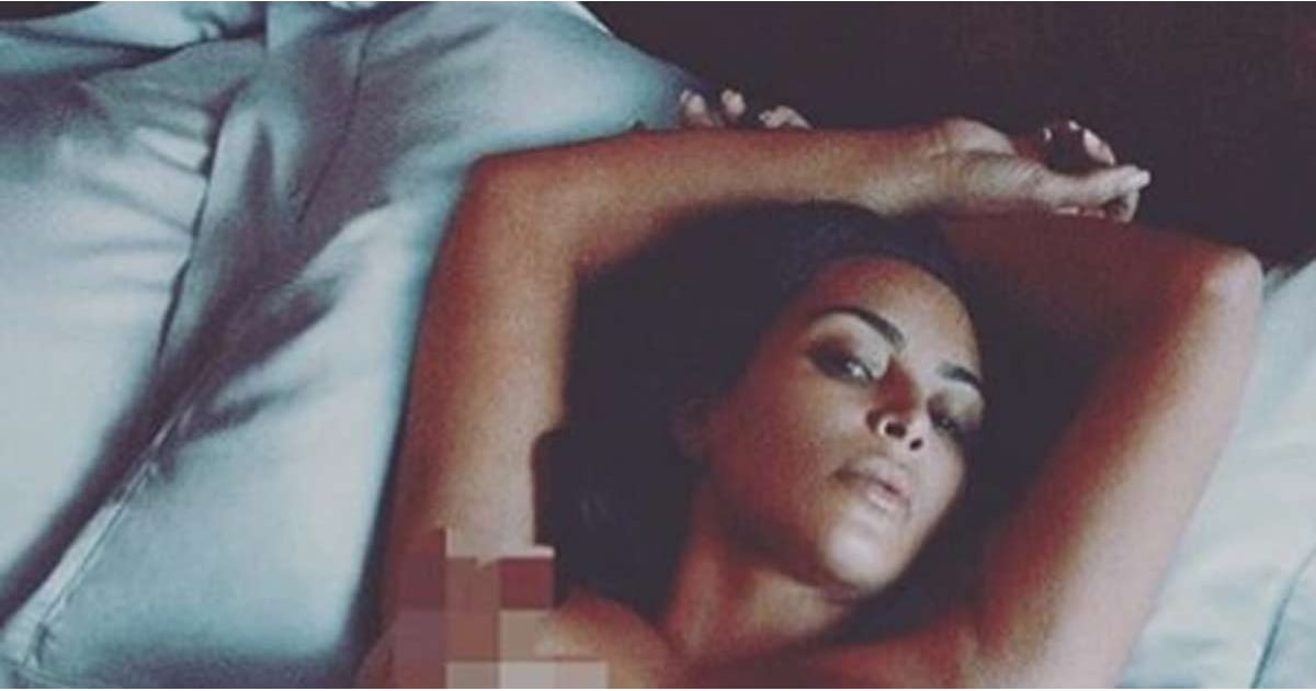 2019 year look- Kim naked kardashian instagram