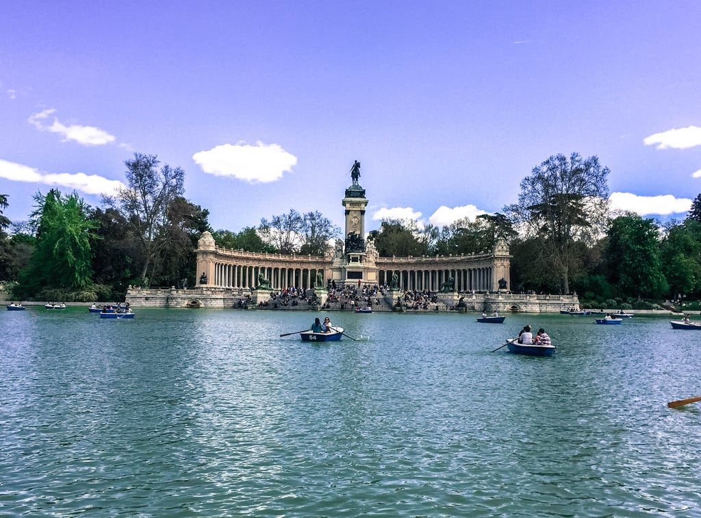 In the heart of the park lies the Retiro Park Lake, which is a popular spot for both locals and travelers alike. It is here you can indulge in a little sunbathing and even rent a rowboat if you're looking to get out on the calming water.