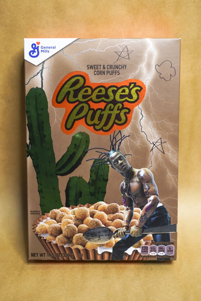 Travis Scott's First Special-Edition Reese's Puffs Box