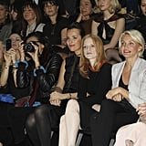 Jessica Chastain and Cameron Diaz scored covetable front-row seats.