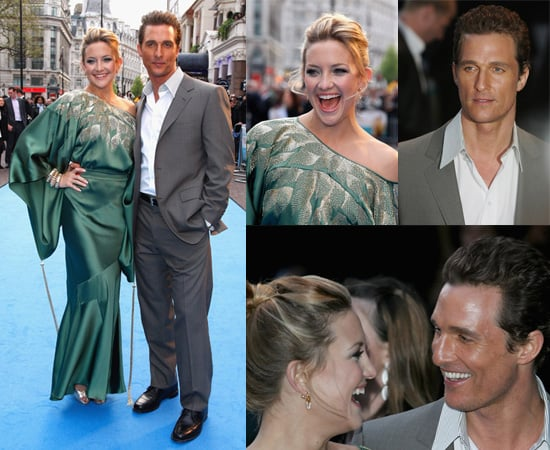 Kate Hudson and Matthew McConaughey at the London Premiere of Fool's Gold
