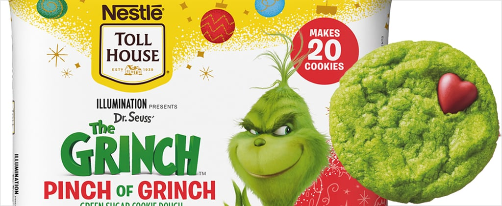 Nestlé Toll House Pinch of Grinch Cookie Dough Photos