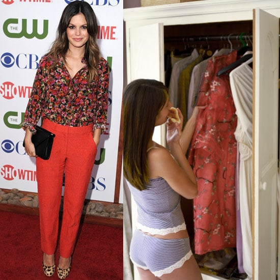 Rachel Bilson Plans Her Outfits in Advance