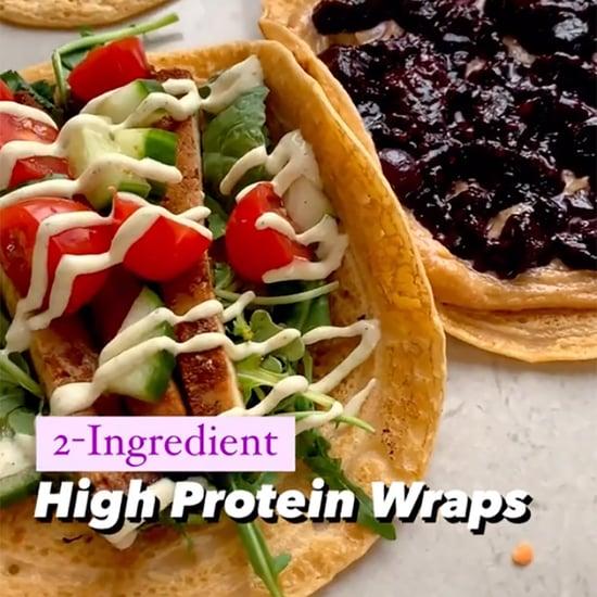 2-Ingredient Lentil Protein Wraps Recipe on TikTok