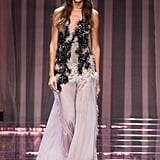 1 Dress, 2 Wears: Joan Smalls Takes a Supersexy Outfit From Runway to Red Carpet