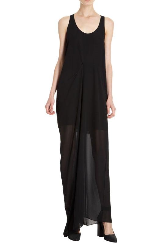 An Edgy Black Dress