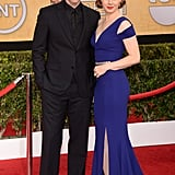Amy Adams attended the SAG Awards with her fiancé, Darren Le Gallo.