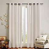 Jinchan Linen Textured Curtains