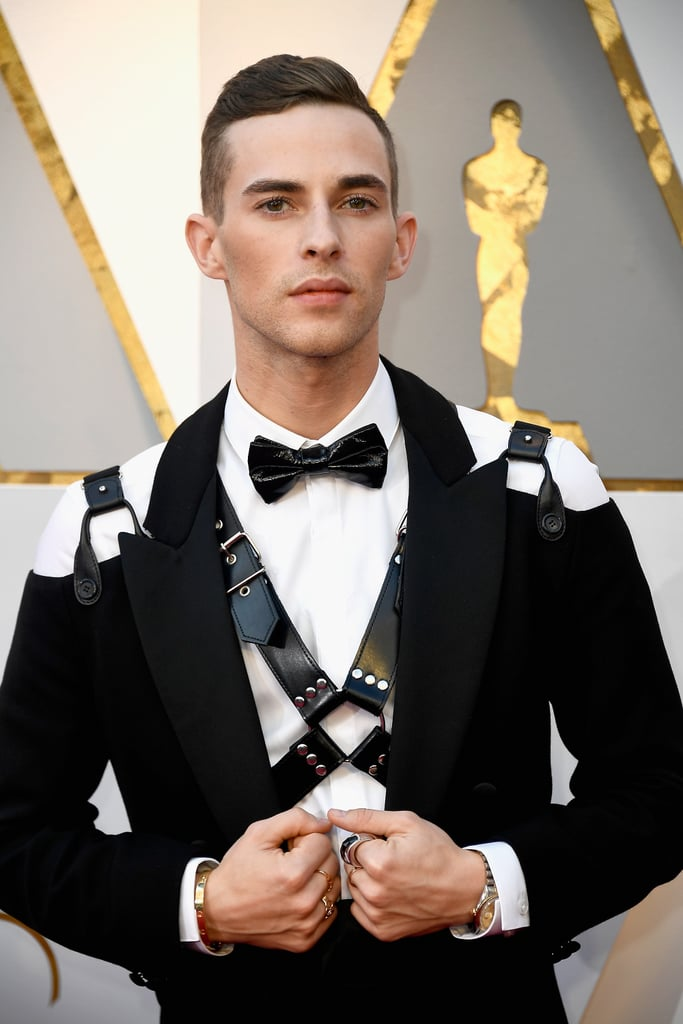 Adam Rippon at the Oscars 2018